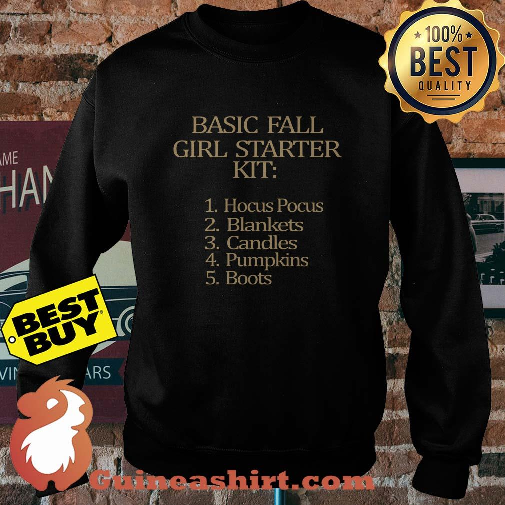 Basic fall Girl starter Kit Hocus Pocus Blankets Candles Pumpkins Boots sweatshirt