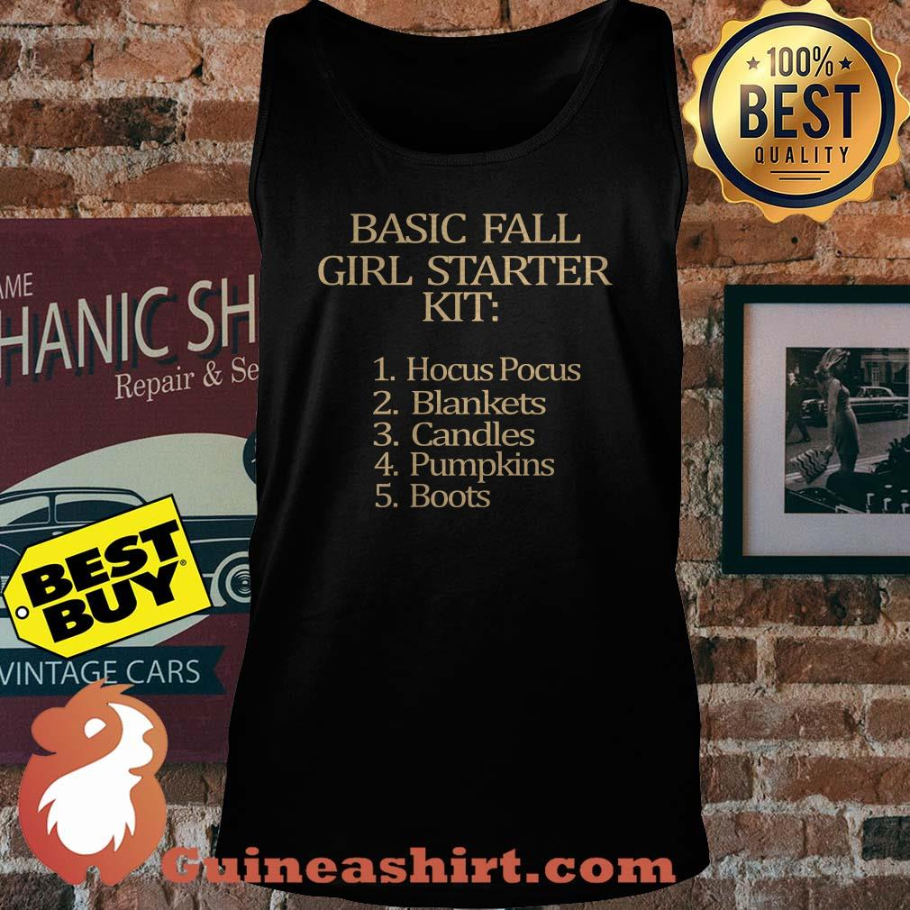 Basic fall Girl starter Kit Hocus Pocus Blankets Candles Pumpkins Boots tank top