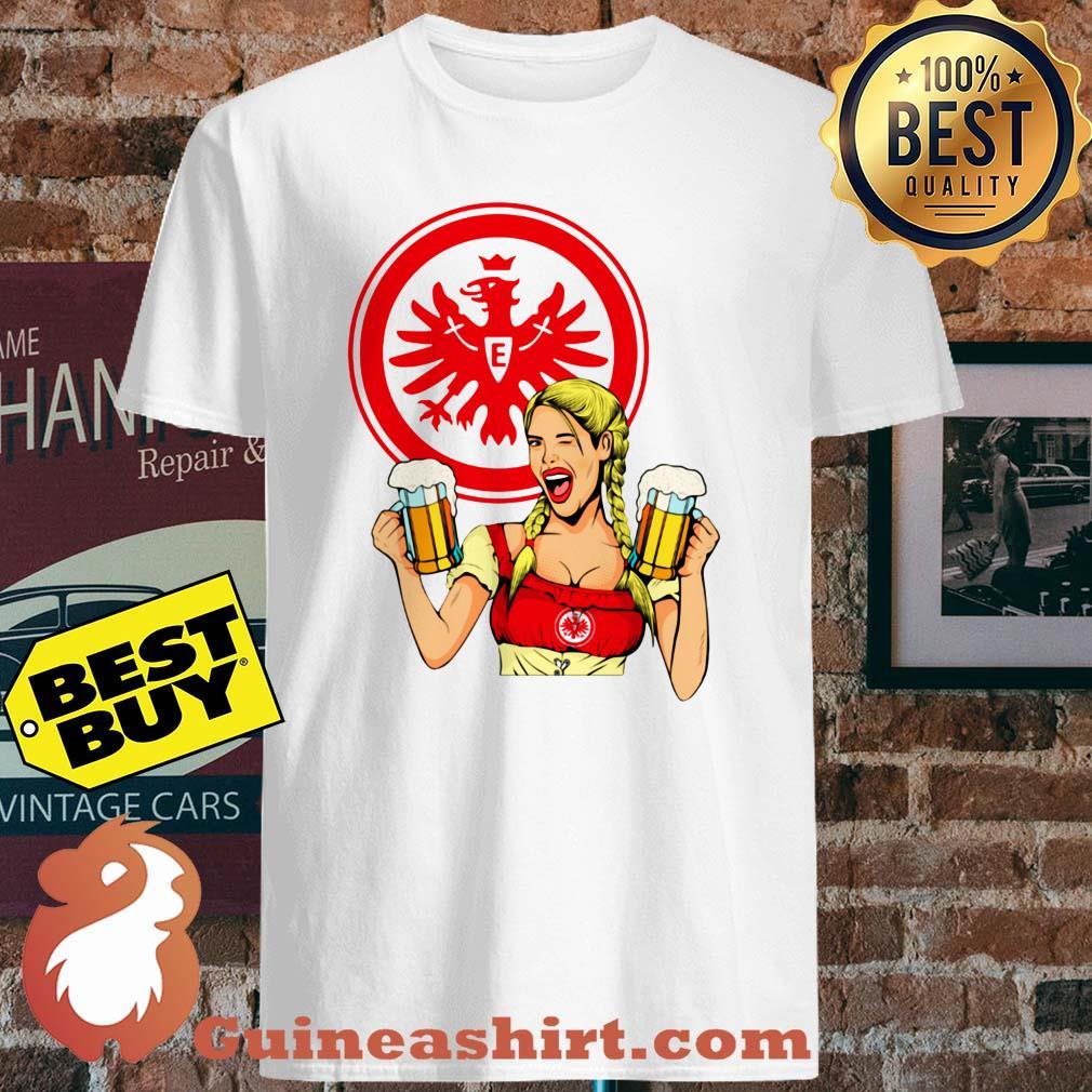 Eintracht Frankfurt logo Klein Beer shirt