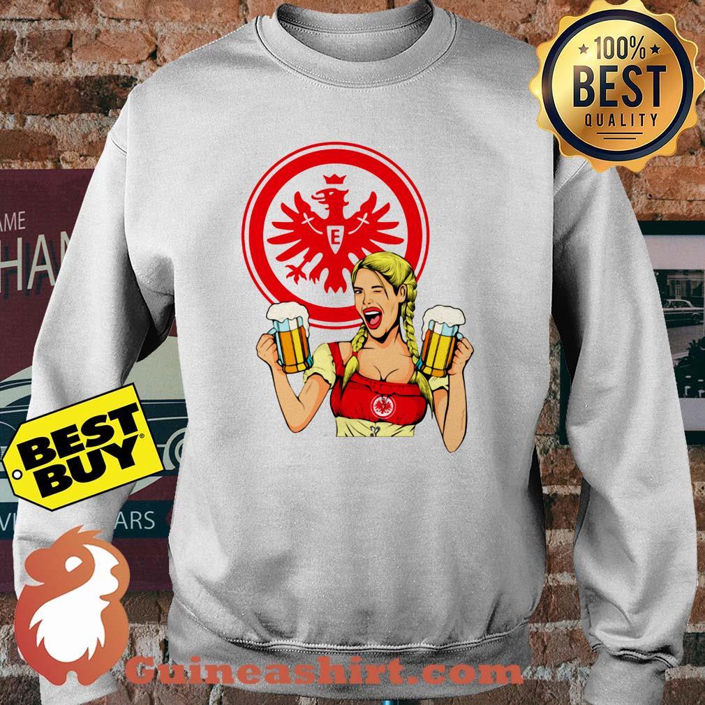 Eintracht Frankfurt logo Klein Beer sweatshirt