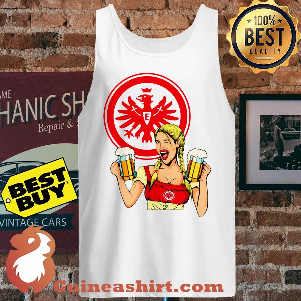 Eintracht Frankfurt logo Klein Beer tank top