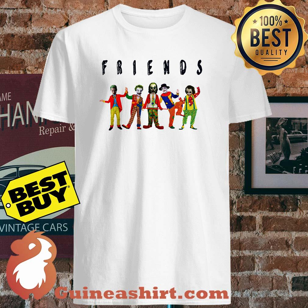 Friends Joker all characters shirt