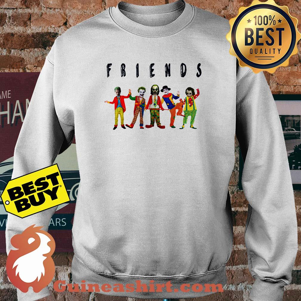 Friends Joker all characters sweatshirt
