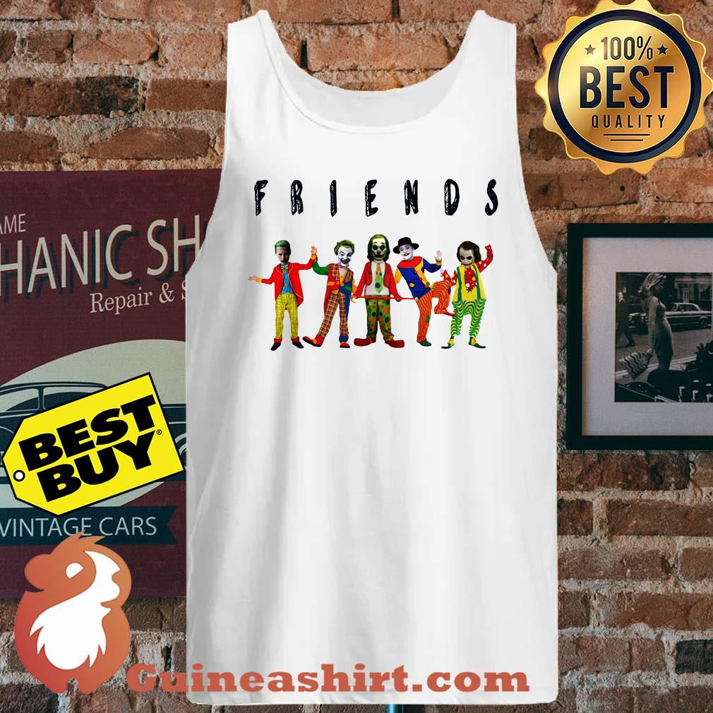 Friends Joker all characters tank top