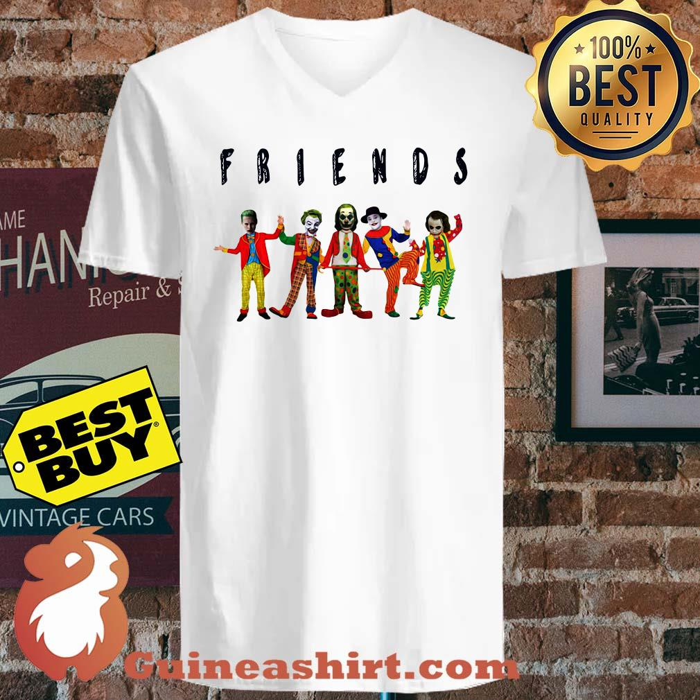 Friends Joker all characters v neck