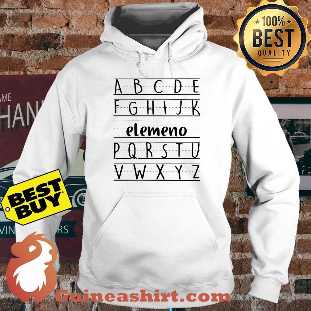 Official Alphabet ABC Elemeno hoodie