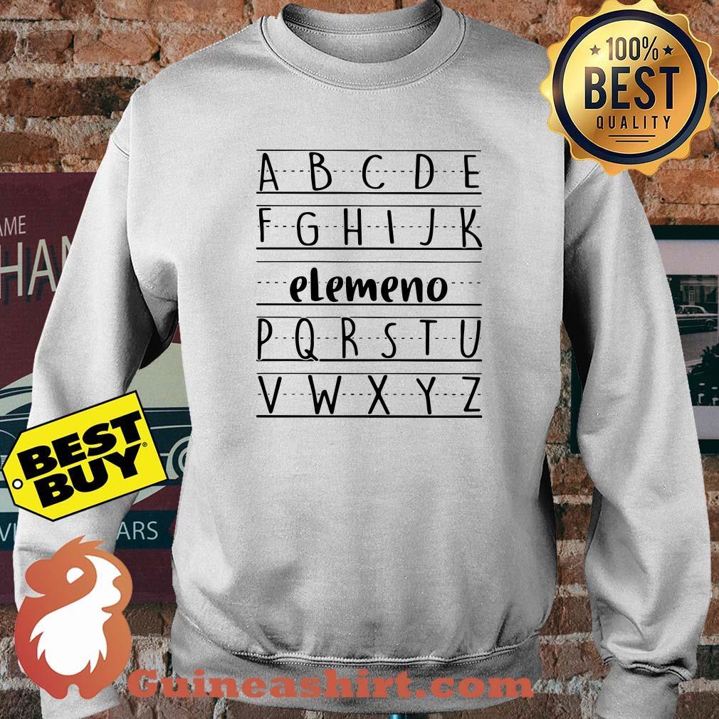 Official Alphabet ABC Elemeno sweatshirt