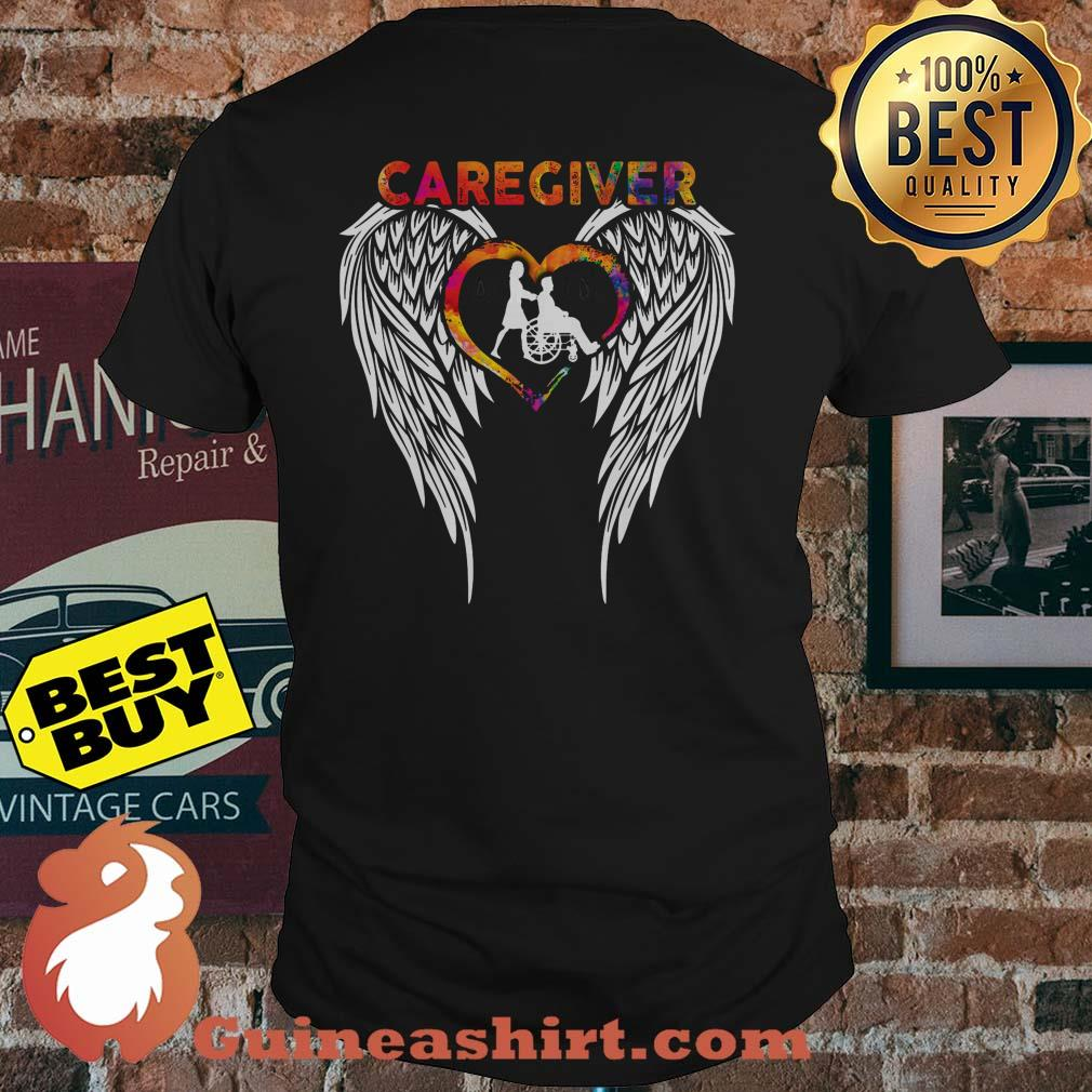 Official Caregiver Angels Colorful shirt