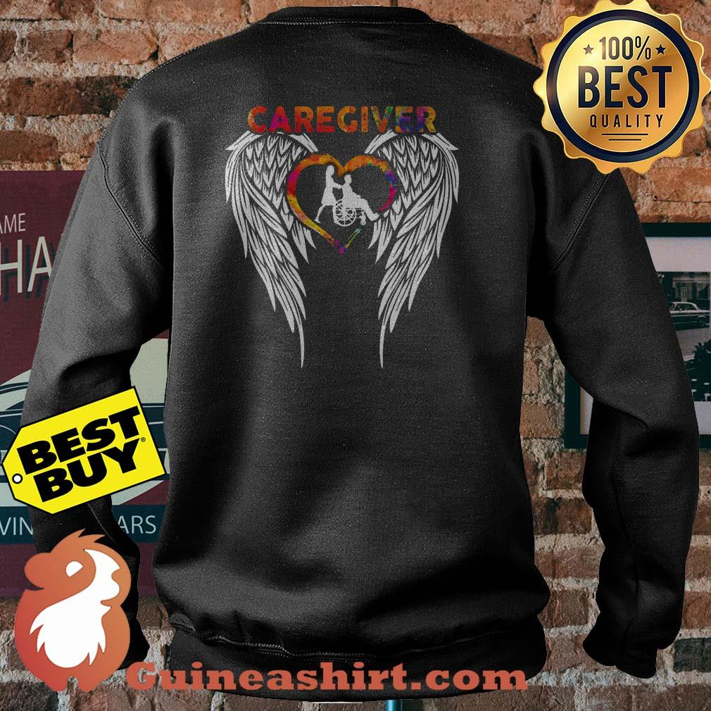 Official Caregiver Angels Colorful sweatshirt