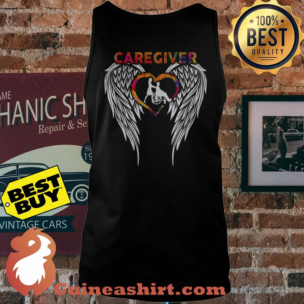 Official Caregiver Angels Colorful tank top
