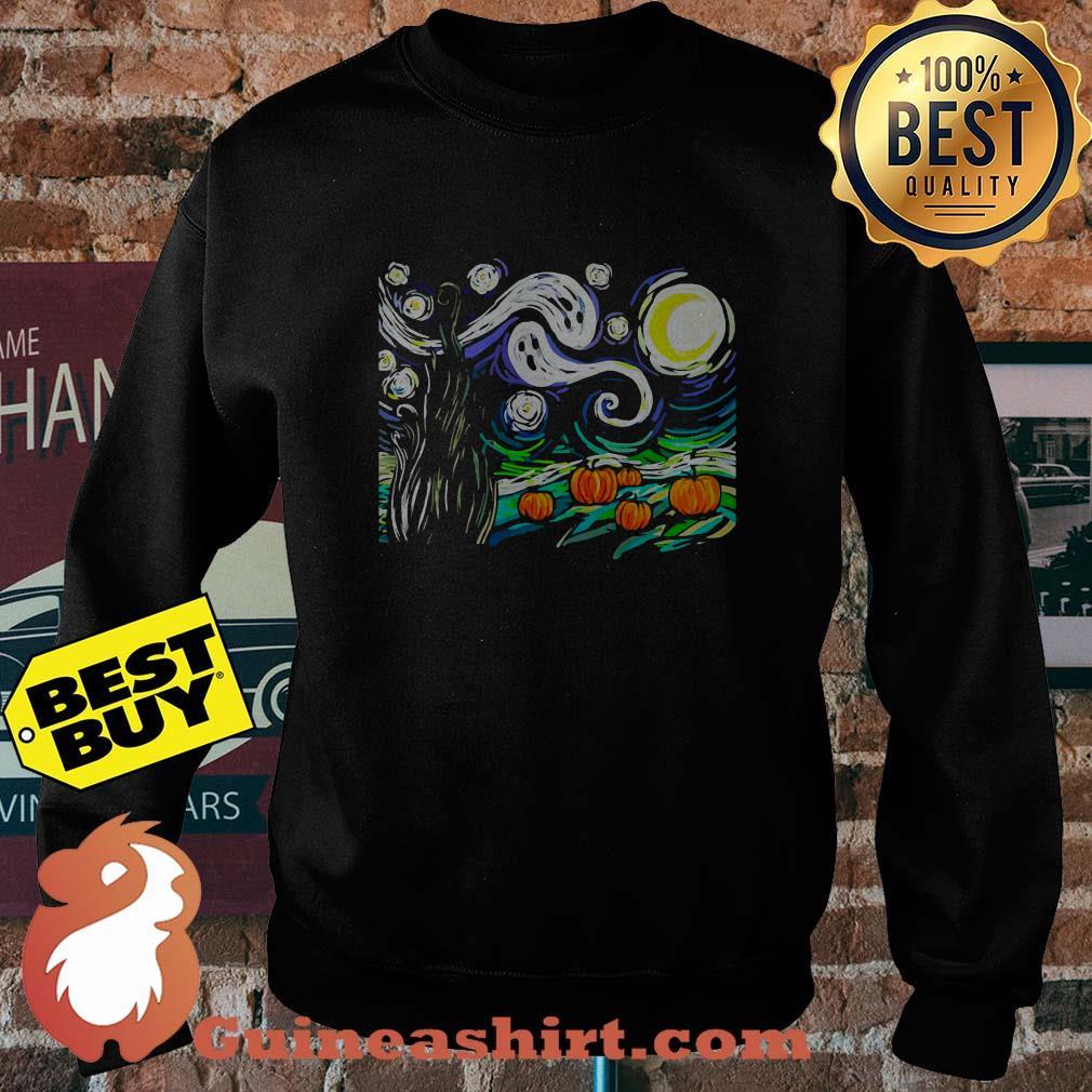 Official Halloween Starry Night sweatshirt
