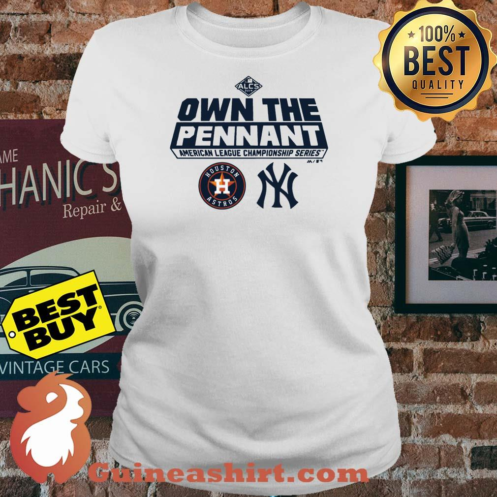 ALCS Own The Pennant American League Championship Series Houston Astros YN ladies tee