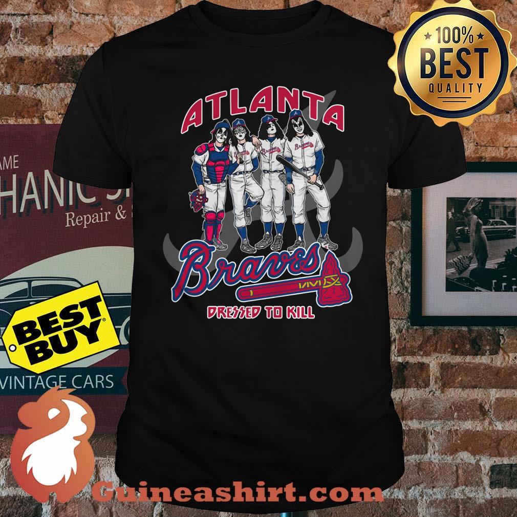 Atlanta Braves Dressed to Kill Navy Shirt