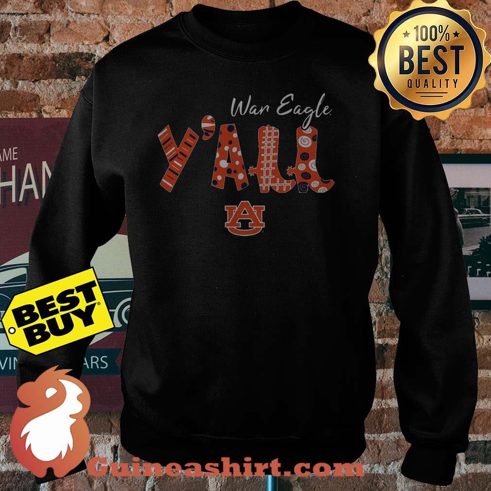 Best War Eagle Y'all Auburn University logo sweatshirt