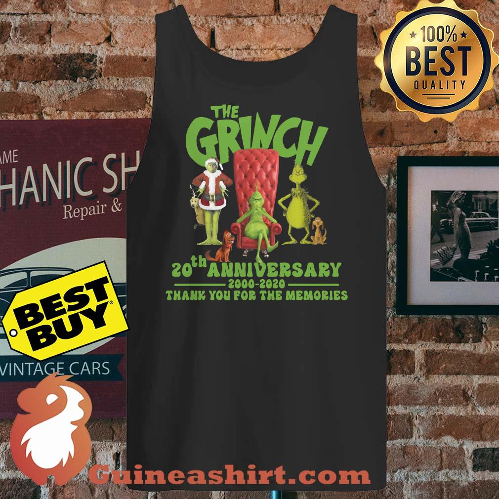 The Grinch 2020 Review.The Grinch 20th Anniversary 2000 2020 Thank You For The