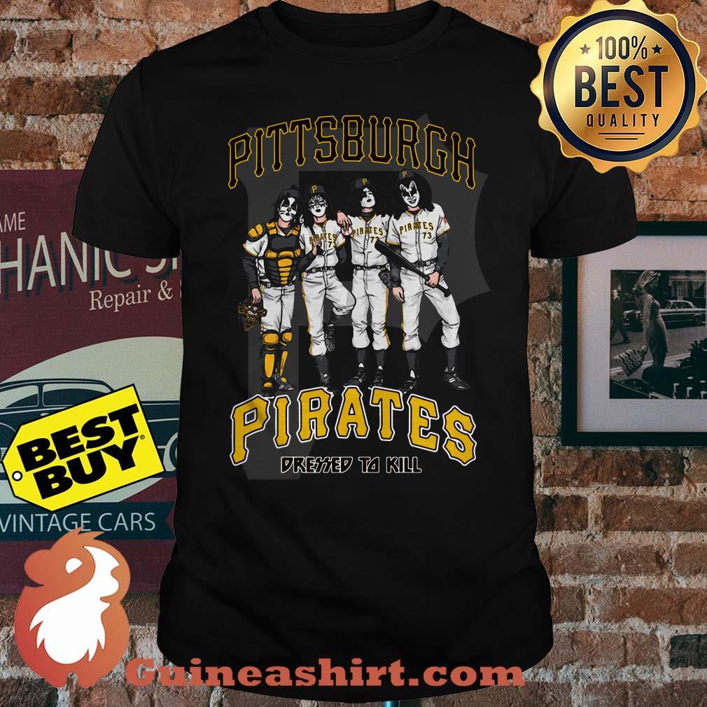 Pittsburgh Pirates Dressed to Kill Black Shirt
