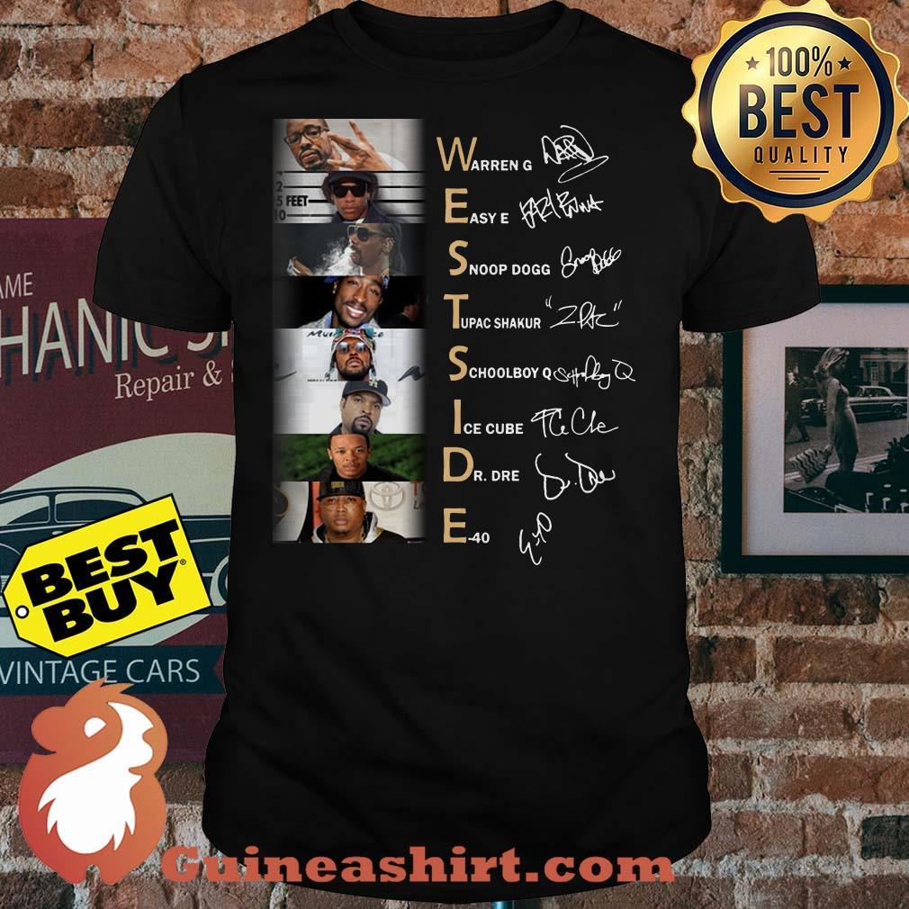 Westside Warren E40 Snoop Tupac Short Ice Dre Eazy shirt