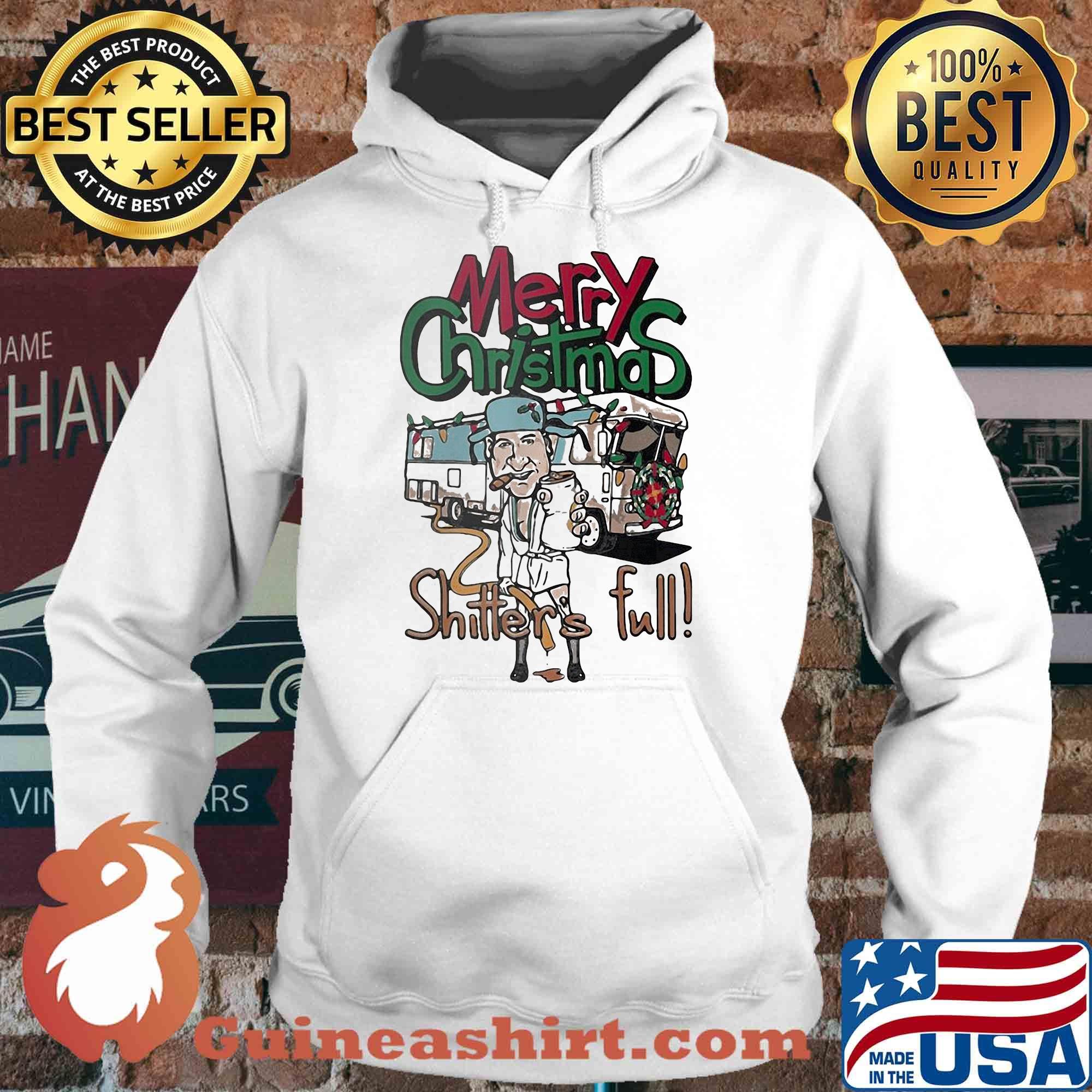 Cousin Eddie Merry Christmas Shitter's Full Bus shirt