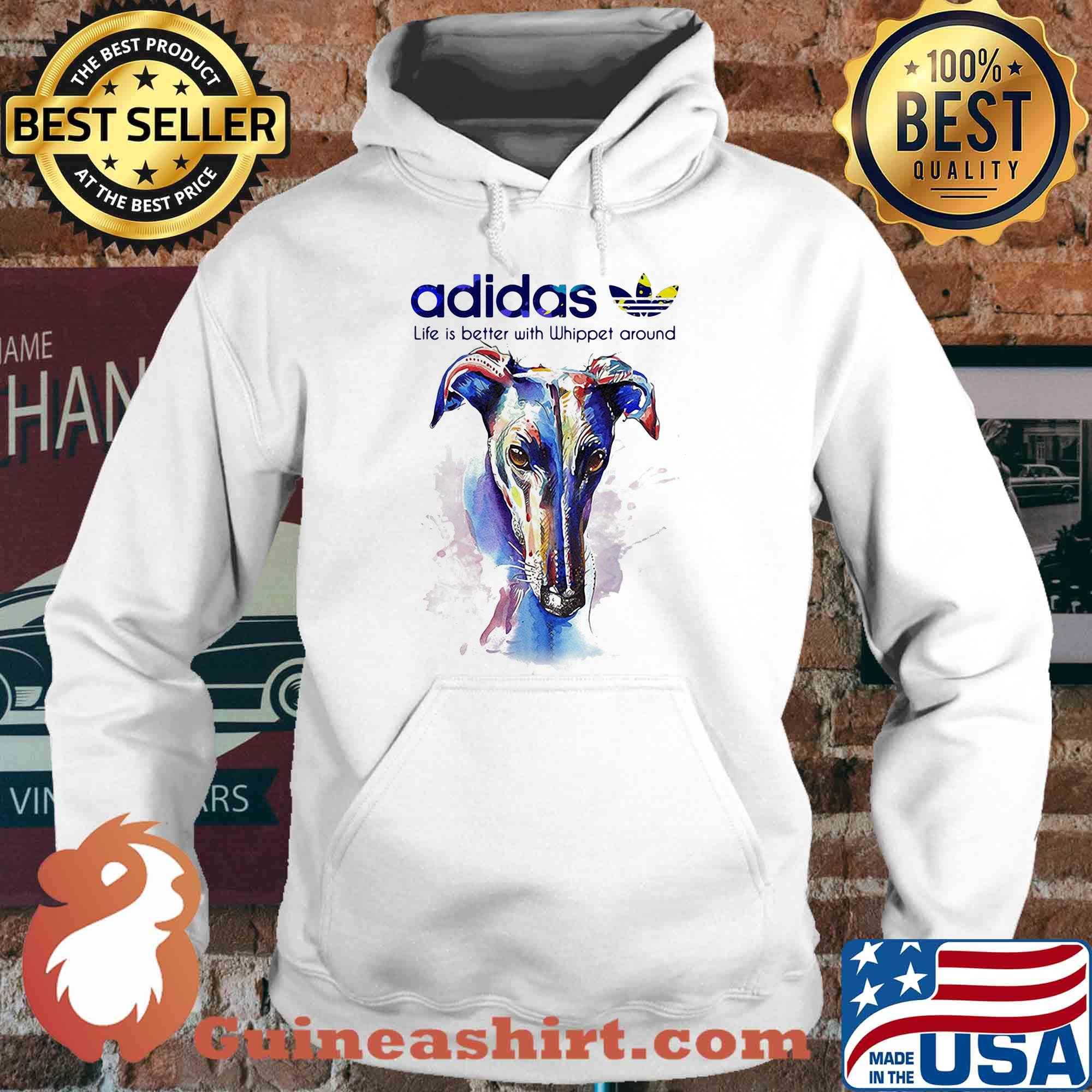 Adidas all day I dream about Whippet around Coloful s Hoodie