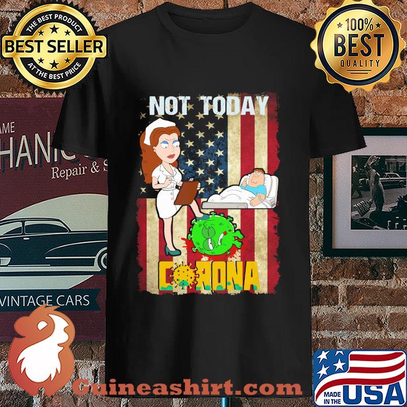 American nurse not today go away corona s Unisex