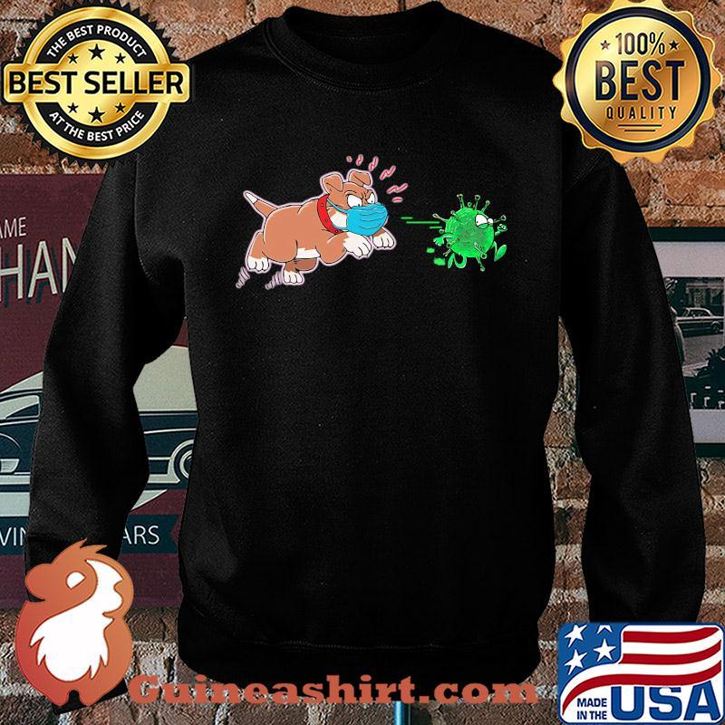 Dog pitbull go away corona virus s Sweater
