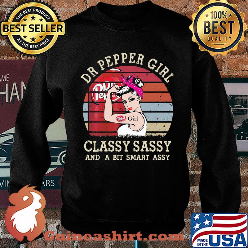 Dr Pepper Girl Classy Sassy And A Bit Smart Assy Vintage 2020 s Sweater