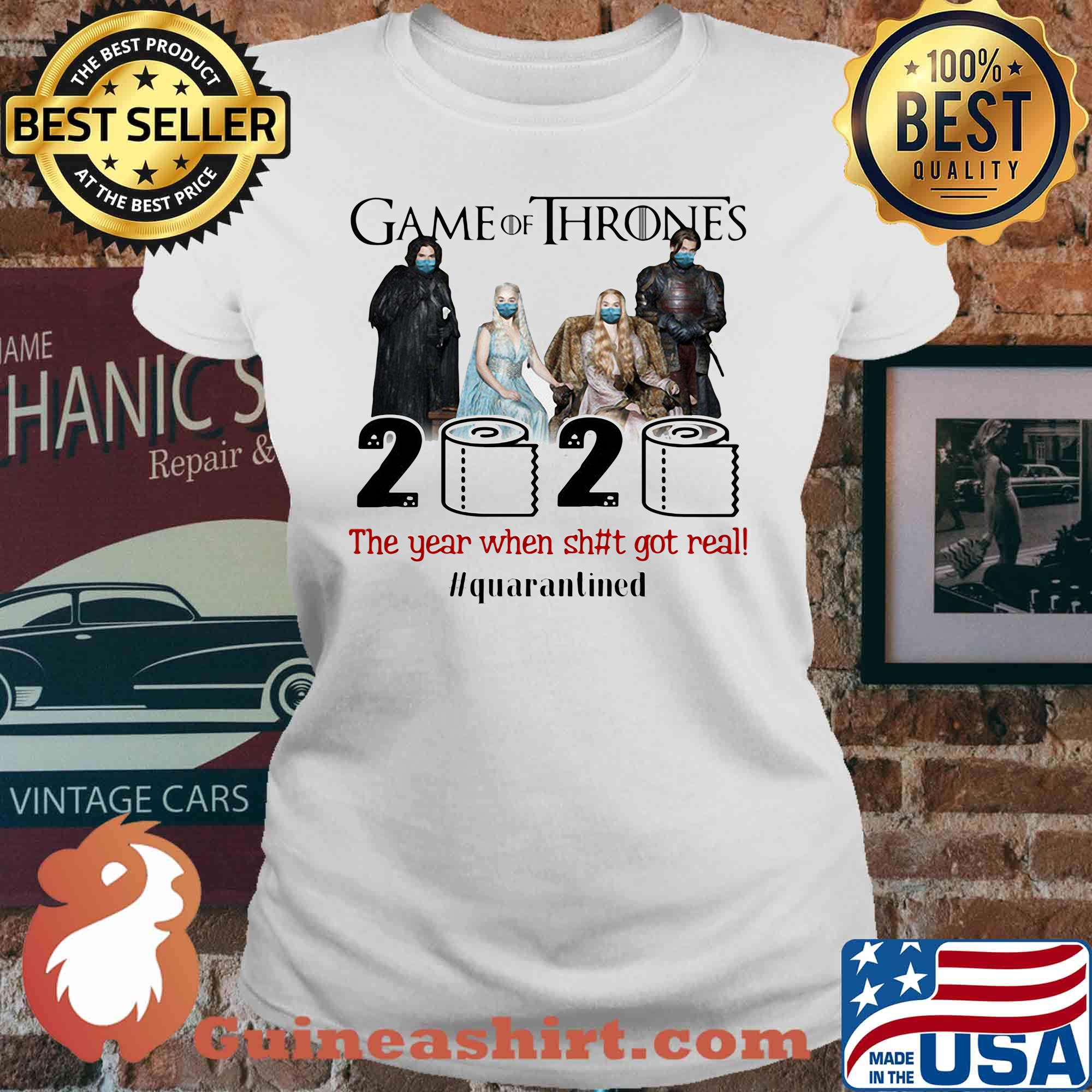 Game Of Thrones Movie 2020 The Year When Shit Got Real Quarantined Toilet Paper Mask Covid 19 Shirt Guineashirt,Best Black Paint For Bathroom Cabinets