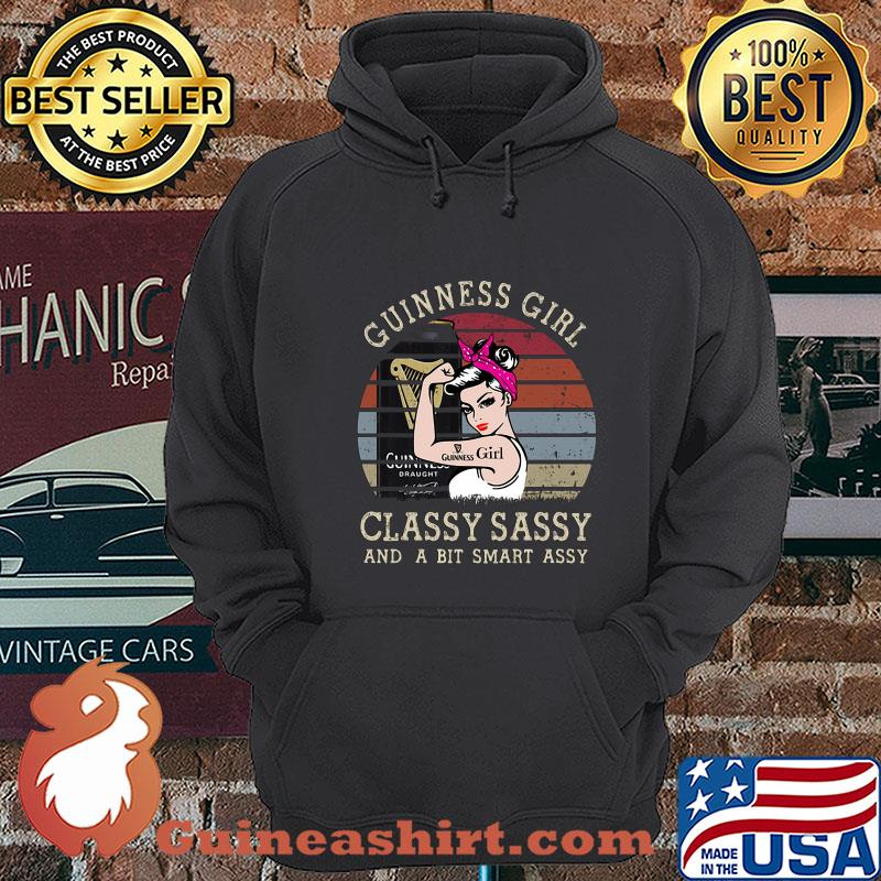 Guinness Girl Classy Sassy And A Bit Smart Assy Vintage shirt