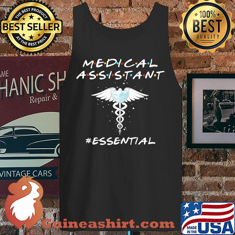 medical assistant mask essential s Tank top
