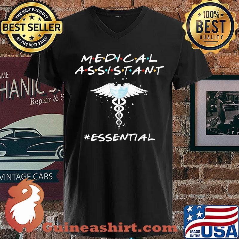 medical assistant mask essential s V-neck