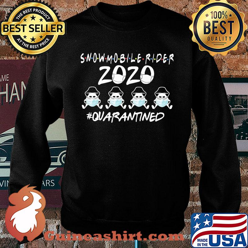 Snowmobile rider 2020 mask quarantined s Sweater
