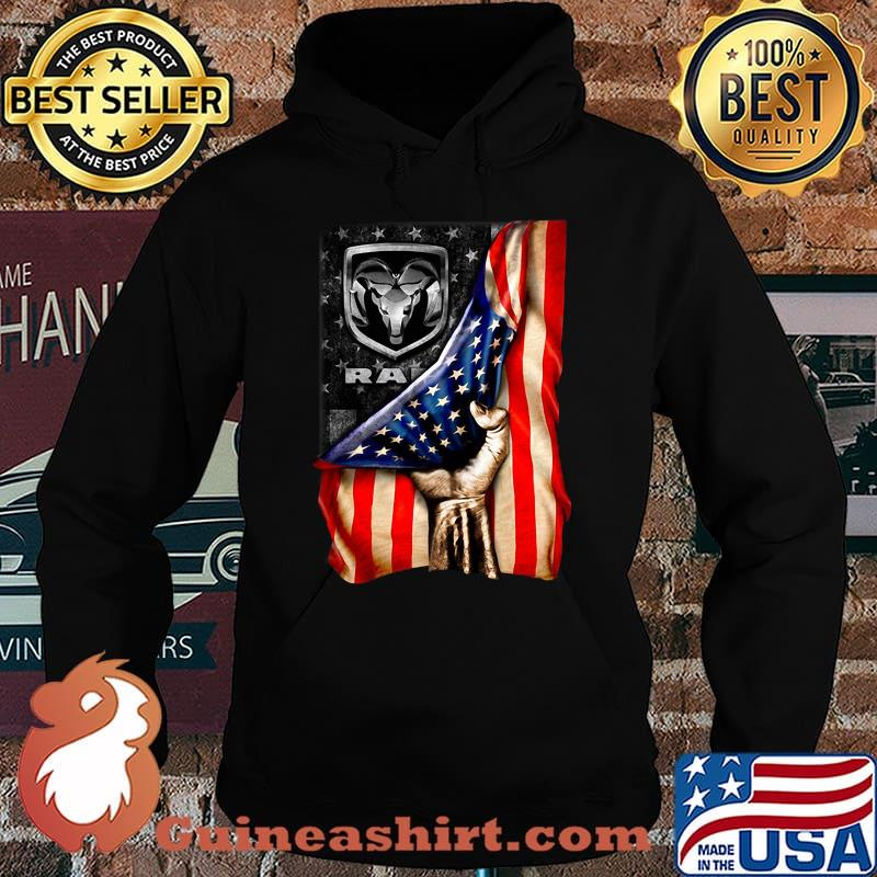 Ram trucks american flag independence day s Hoodie