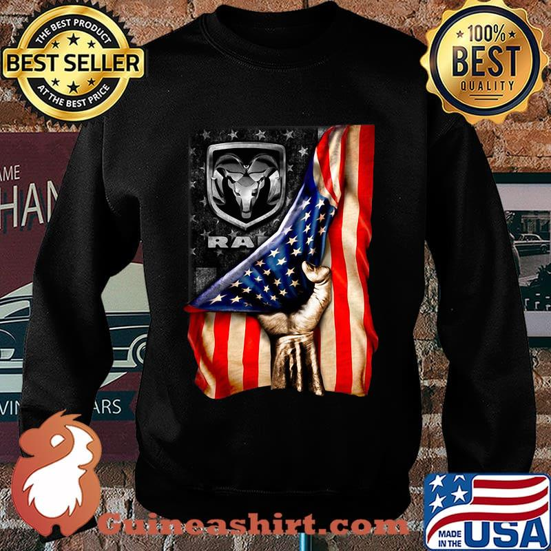 Ram trucks american flag independence day s Sweater