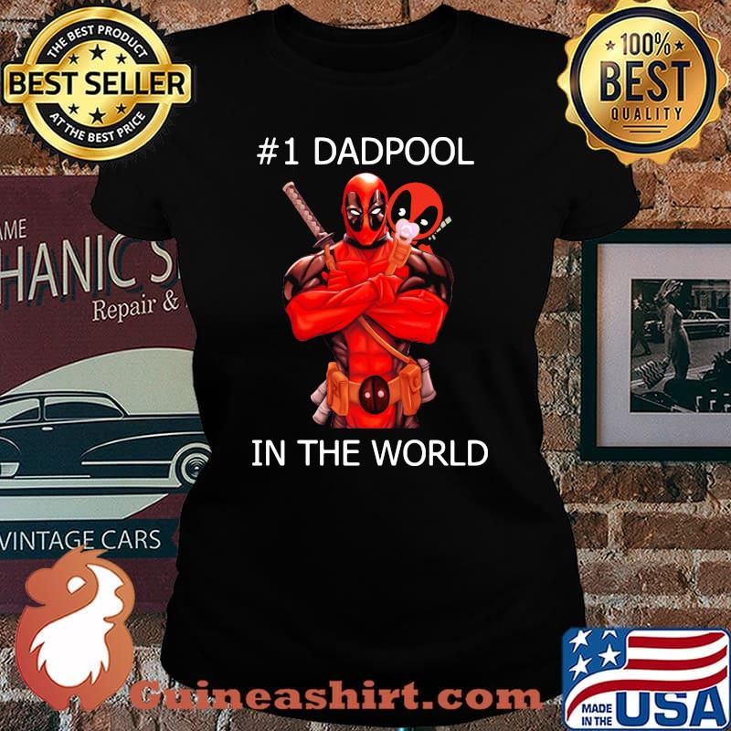#1 Dadpool in the world s Laides tee