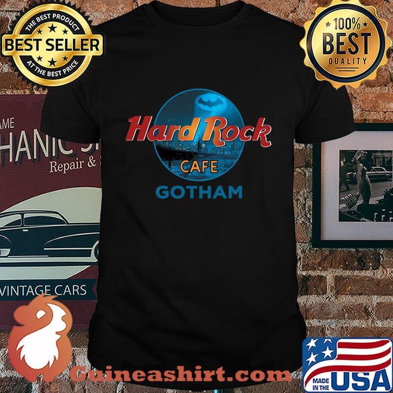 Official Hard Rock Cafe gotham shirt