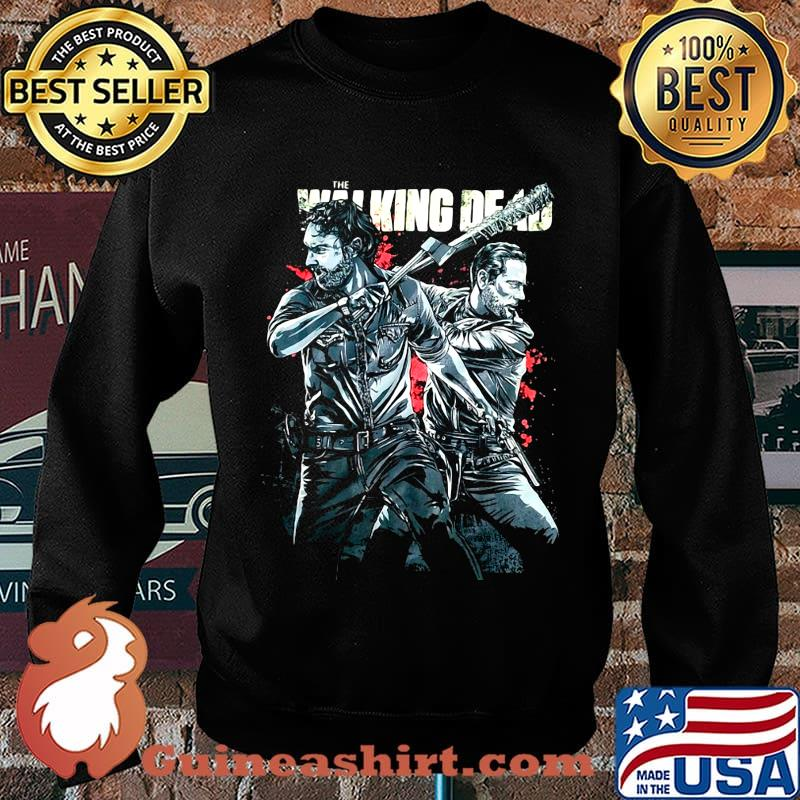 The Walking dead rick grimes and negan s Sweater