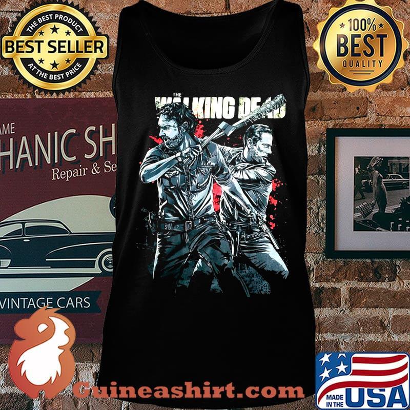 The Walking dead rick grimes and negan s Tank top