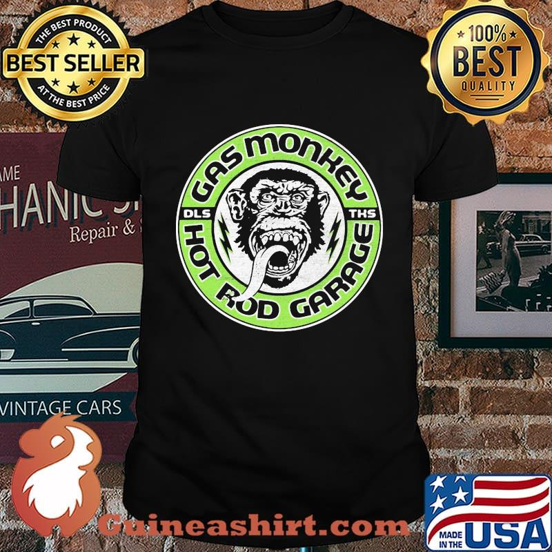 Gas monkey dallas texas custom hot rods garage shirt