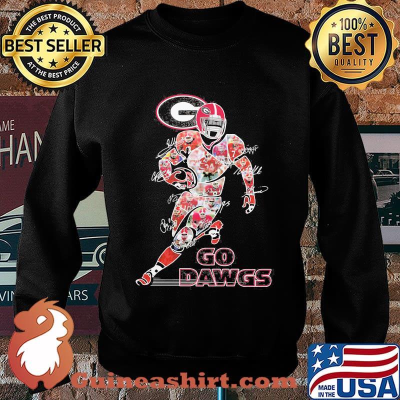 Georgia bulldogs go dawgs signatures s Sweater