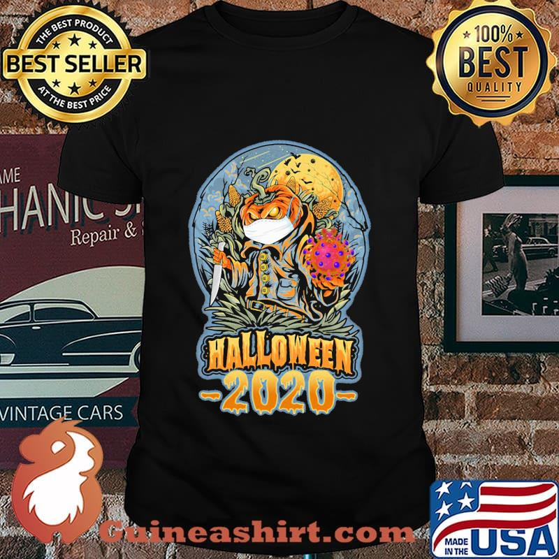 Halloween Michael Myers Pumpkin 2020 Halloween michael myers pumpkin mask 2020 shirt   Guineashirt