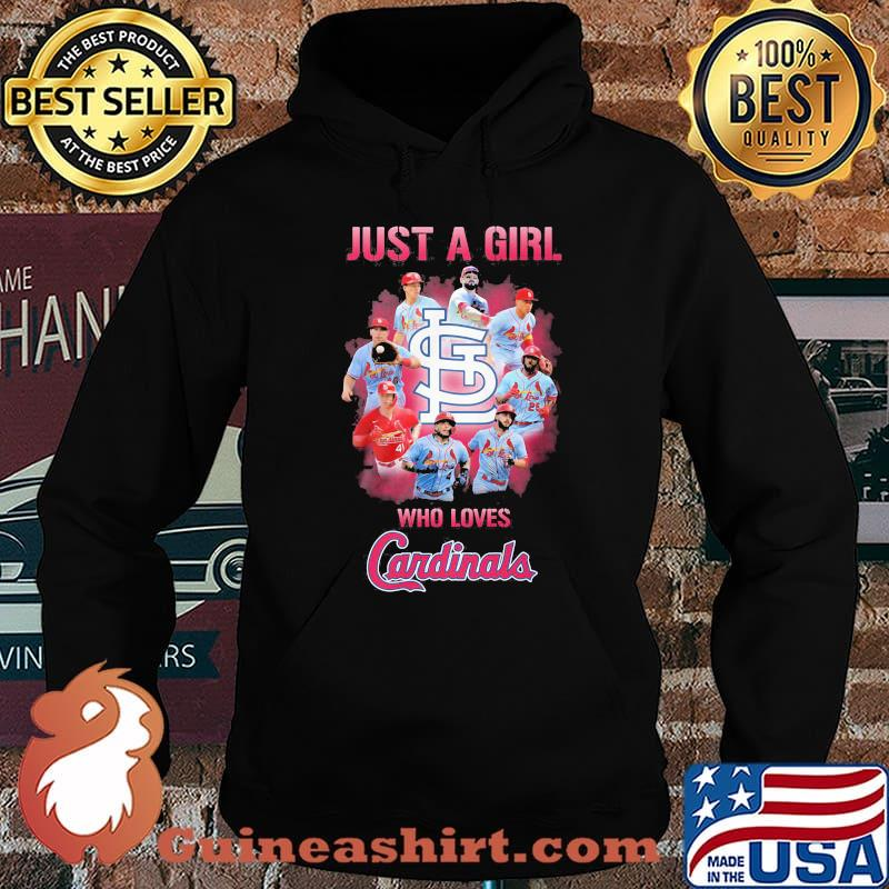 Just a girl who loves st. louis cardinals s Hoodie