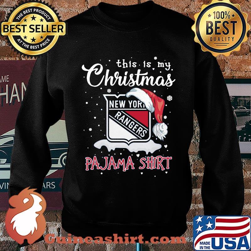 New york rangers this is my christmas pajama s Sweater