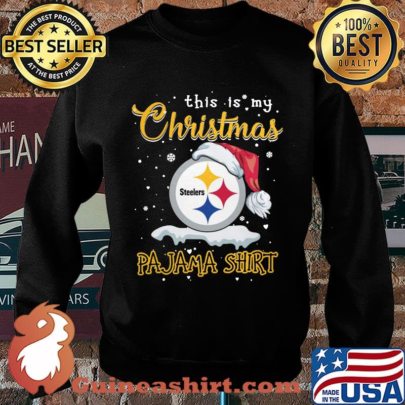 Pittsburgh steelers this is my christmas pajama s Sweater