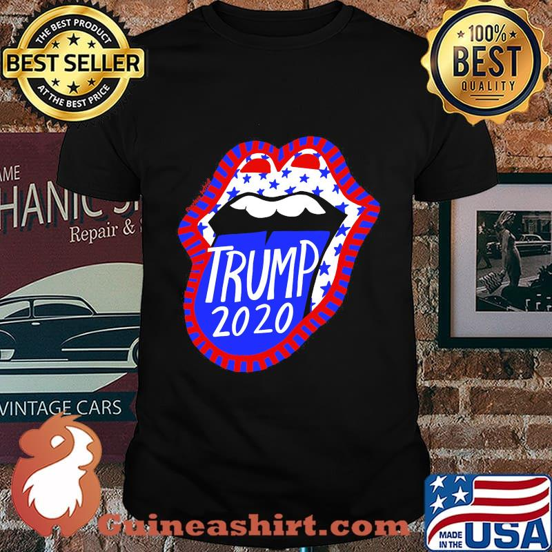 Rolling stones trump 2020 america shirt