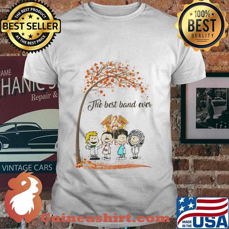 The peanuts queen band the best and ever fall maple leaves shirt