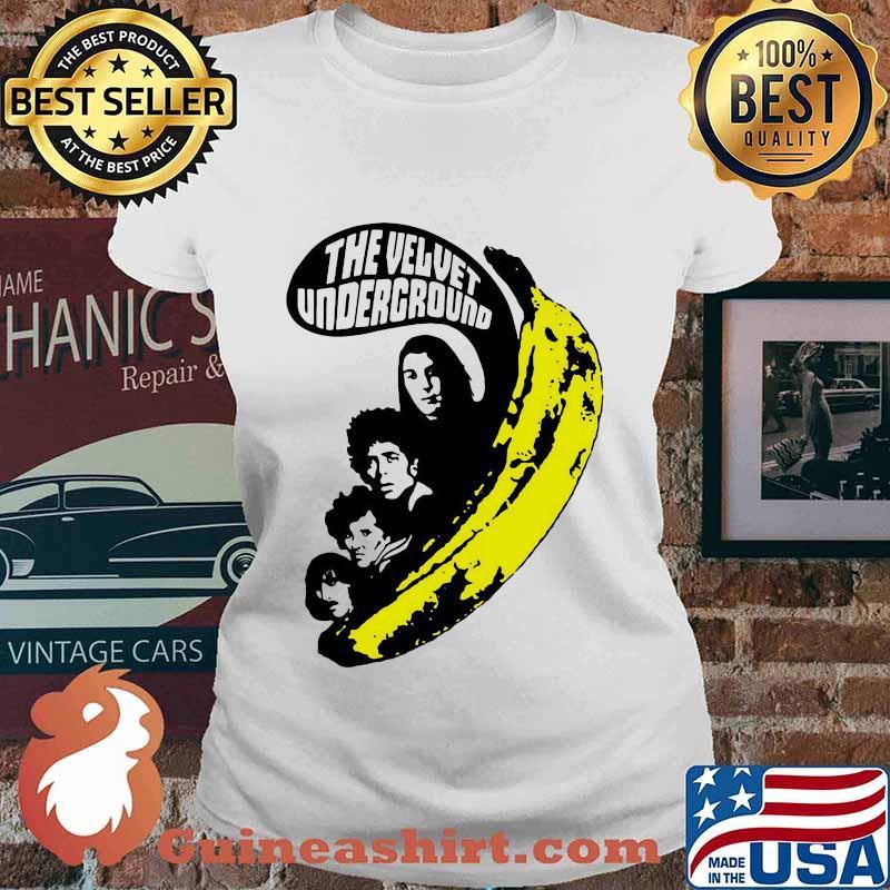 The velvet underground band members banana s Ladies tee