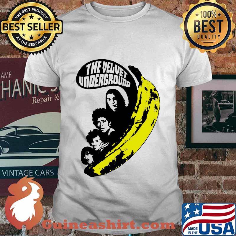 The velvet underground band members banana shirt