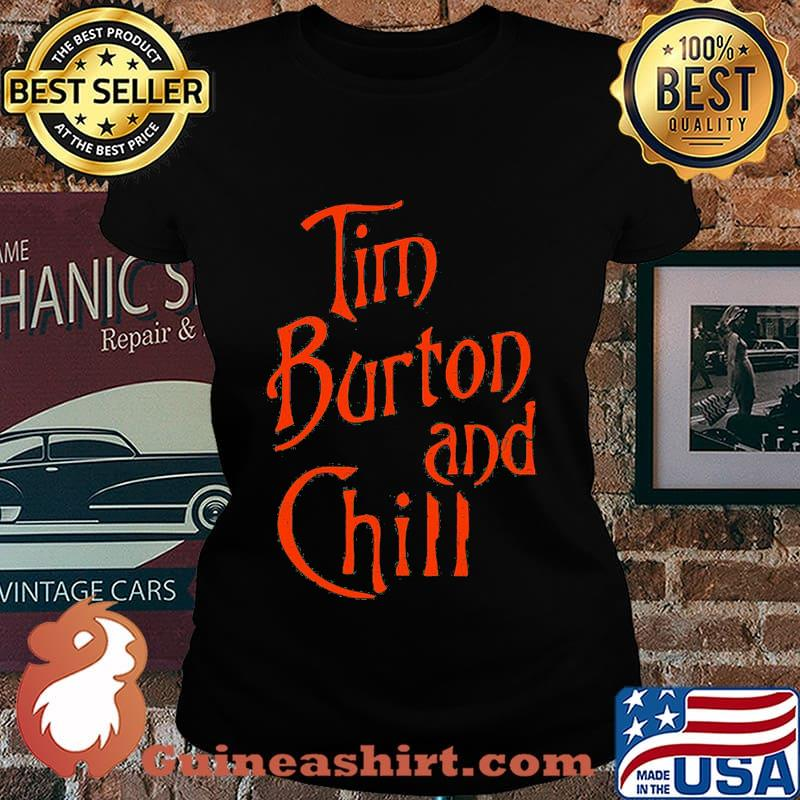 Tim burton and chill s Laides tee