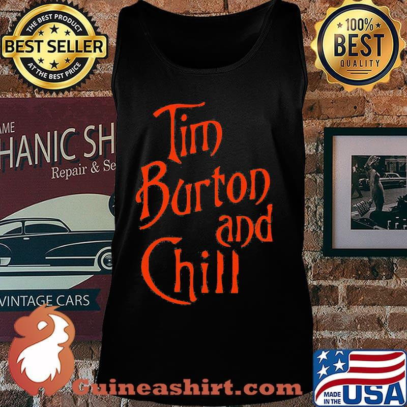 Tim burton and chill s Tank top