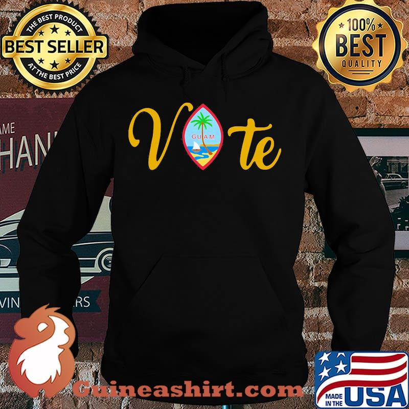 Vote guam where america's day begins s Hoodie